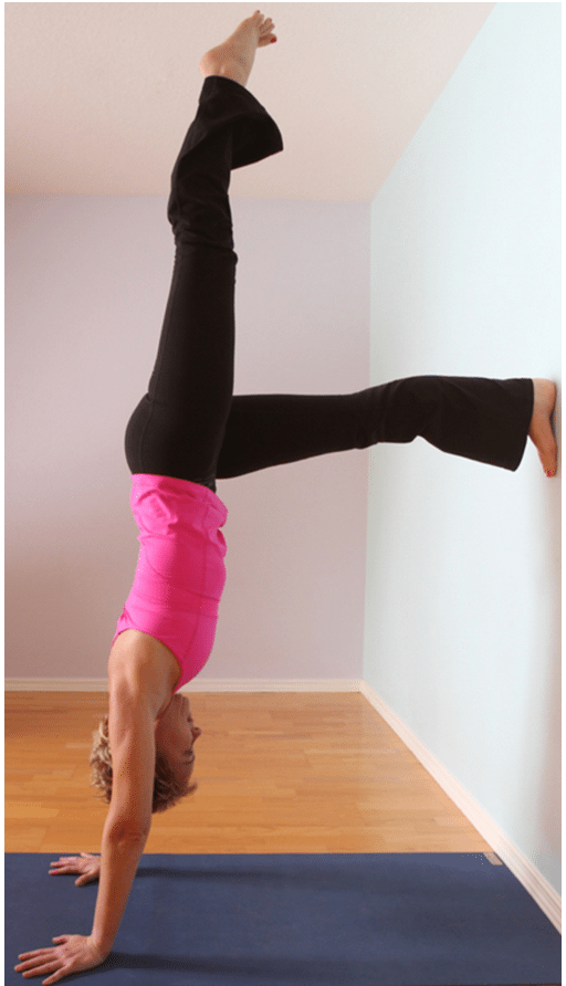 handstand pose