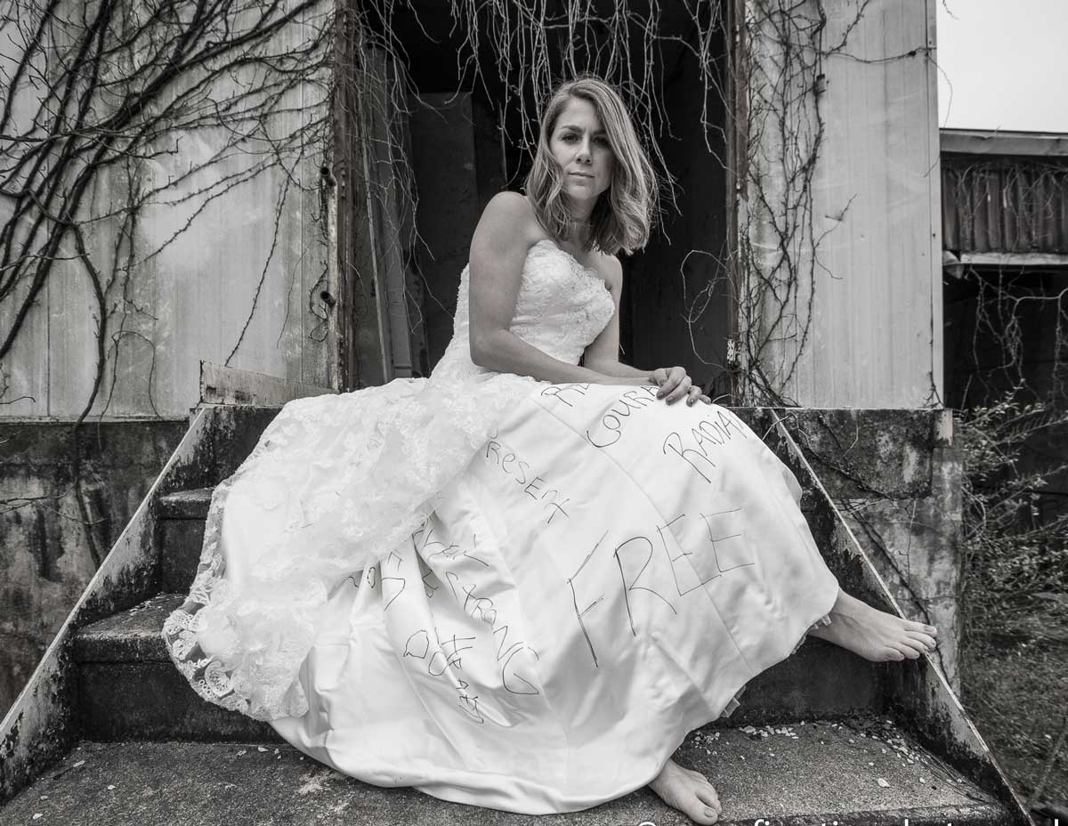 The Ugly Truth Behind Wedding Dresses: How One Woman Took a Stand