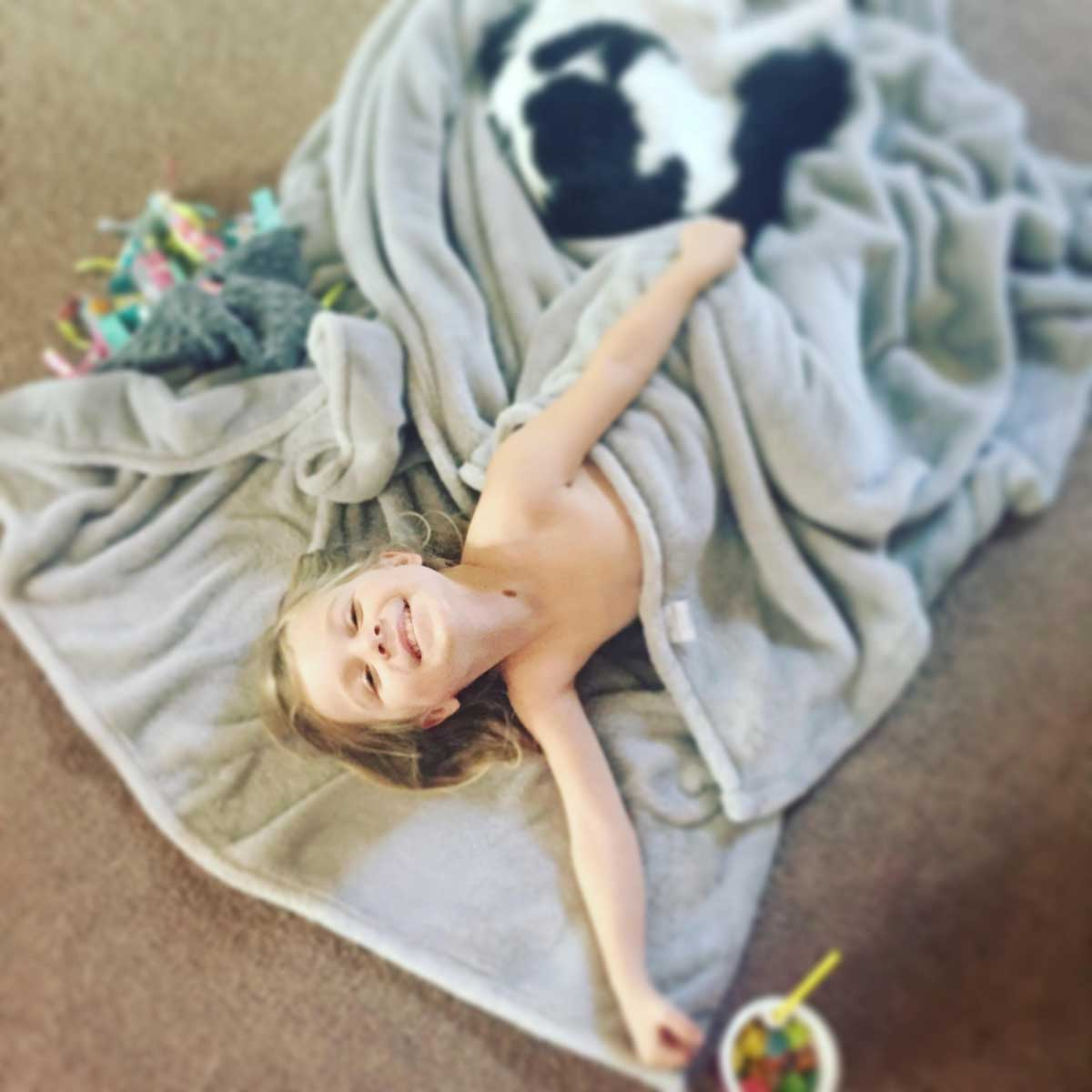 """My Tummy is Fat"" – How One Mom Responded to Her Sweet Girl"